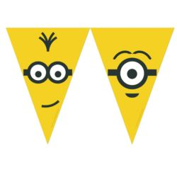 "Banner ""Minions Adults"", flagi KK"