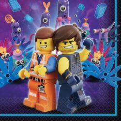 """Serwetki """"Lego Movie 2"""", 33 cm 16szt"""