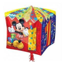 """balony, balony na hel, dekoracje balonowe, balony Łódź, balony z nadrukiem, Balon, foliowy 15""""CBZ - """"Micke Mouse Age 1"""" (sześc"""
