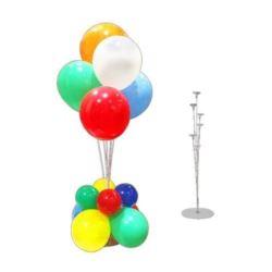 """balony, balony na hel, dekoracje balonowe, balony Łódź, balony z nadrukiem, Stelaż do stroika z balonów """"6+0"""""""