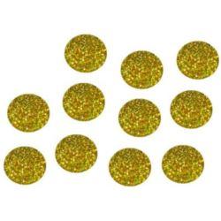 Konfetti do balonów holo -złoto 50 g