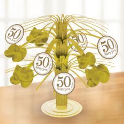 """Dekoracja na stół """" Jubileusz 50-lecia"""""""