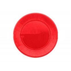 Talerze papierowe 23 cm czerwone 20 szt.