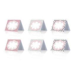 Wizytówki na stół Sweets mix 8,4 x 6,4cm, 6 szt.