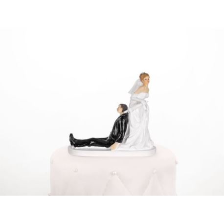 "Figurka ""Panna Młoda z parasolem"",13 cm,1 szt."