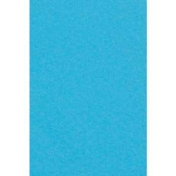 Obrus papierowy foliowany 137x274 cm - turkus