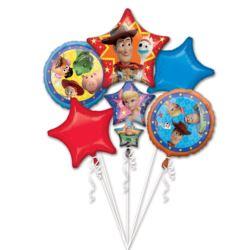 "Bukiet balonow ""Toy Story 4"" 5szt."
