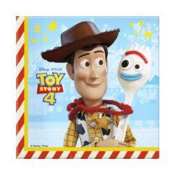 Serwetki papierowe Toy Story 4, 33x33 cm, 20 szt.