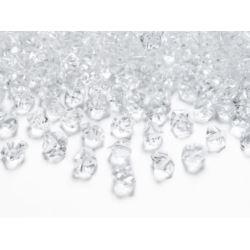 Kryształowy lód bezbarwny, 14 x 11 mm.