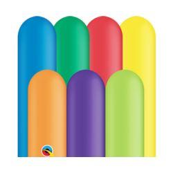 Balon QL modelina 646, pastel mix karnawałowy