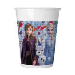 Kubeczki plastikowe Frozen 2, 200 ml, 8 szt.