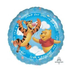 "Balon foliowy 18"" CIR - ""Puchatek - To chłopiec"""