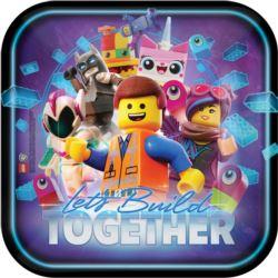 """Talerze """"Lego Movie 2"""" 23 cm"""