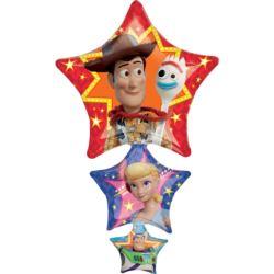 """Balon foliowy SuperShape """"Toy Story 4"""" 63cmx106cm"""