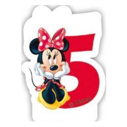 """Świeczka Disney """"Minnie Cafe 5"""""""