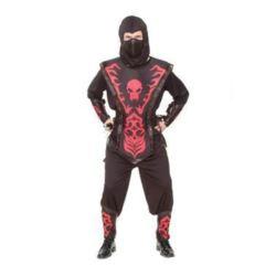 """Strój dla dorosłych """"Ninja- Czerwona śmierć"""",56roz"""