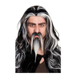 Wąsy i broda czarnoksiężnika, maga