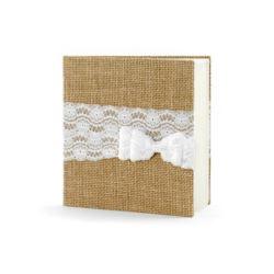 Księga Gości, 20,5 x 20,5cm, 22 kartki