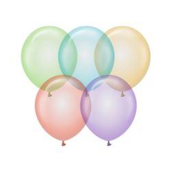 "Balony Beauty&Charm, krystaliczny mix 12""/ 10 szt."