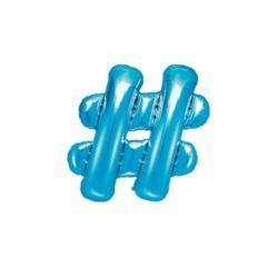 Balon foliowy , 35cm, niebieski