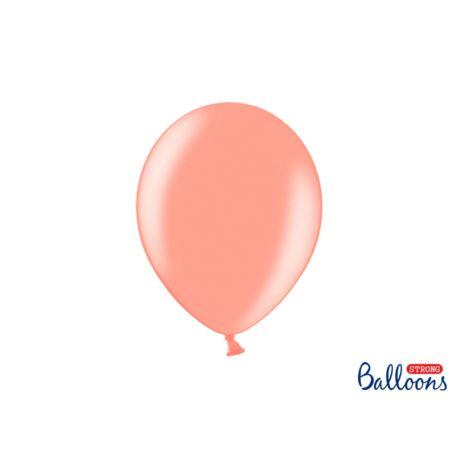 balony, balony na hel, dekoracje balonowe, balony Łódź, balony z nadrukiem Balony Strong 27cm, Metallic Rose Gold