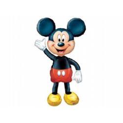 Balon, foliowy 96x132 cm AWK Mickey chodzący