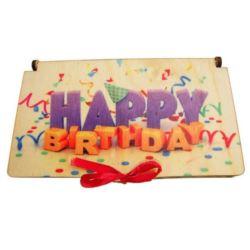 balony, balony na hel, dekoracje balonowe, balony Łódź, balony z nadrukiem, Pudełko na pieniądze z nadrukiem Happy Birthday