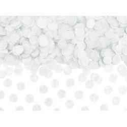 Konfetti Kółka, biały, 15g