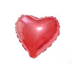 """Balon, foliowy JUMBO FX - """"Serce"""" (czerwone)"""