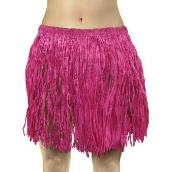 Image of Spódnica hawajska dla dorosłych 40x79 cm/ różowa