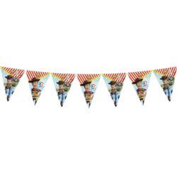 balony, balony na hel, dekoracje balonowe, balony Łódź, balony z nadrukiem, Banner Toy story 4, 9 flag, 230 cm
