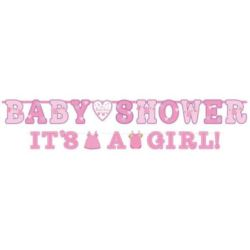 Banery Baby Shower i It`s Girl