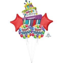 """Bukiet balonów """"Balloon Fun"""" 5 szt."""