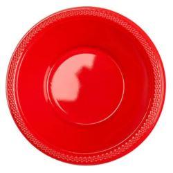 Miski 355ml - czerwony 10 szt.