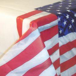 Obrus USA - foliowy 137 x 243 cm.