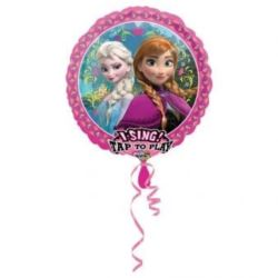 """Balon, foliowy grający """"Frozen"""" 71x71 cm"""