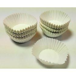 Foremki do ciasta Białe 35x20mm 200 szt.