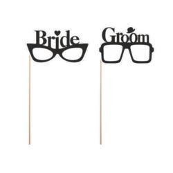 Karteczki Okulary Bride&Groom