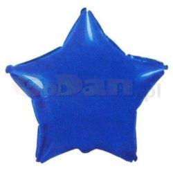 """Balon, foliowy JUMBO FX - """"Gwiazda"""" (niebieska)"""