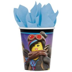 "Kubki ""Lego Movie 2"" 266 ml 8szt."