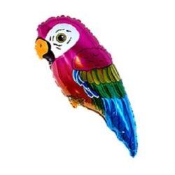 "Balon foliowy 14"" FX - ""Super Parrot - Papuga"""