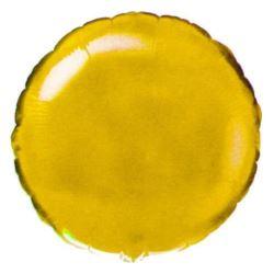 """Balon,foliowy JUMBO FX - """"Okrągły"""" złoto"""