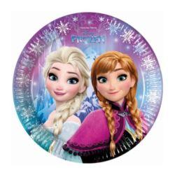 """Talerzyki papierowe """"Frozen Nothern Lights"""" 23 cm"""