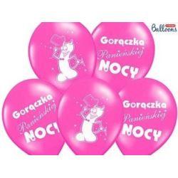 Balony 30 cm Gorączka ..Pastel Hot Pink, 50 szt.