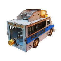 Wóz Policyjny (karafka + 6 kieliszków) 1 szt.