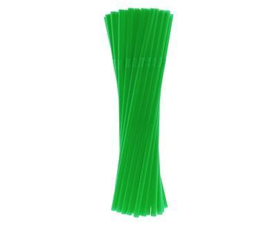 Rurki (słomki) łamane,zielone 5x210 mm 40 szt. EB