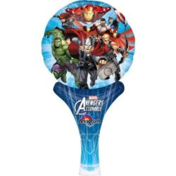 Balon, foliowy nadmuchiwany Avengers 15 x 30 cm