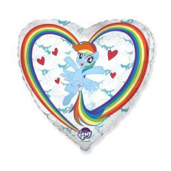 """Balon foliowy 18"""" FX - My little Pony Chmurki"""
