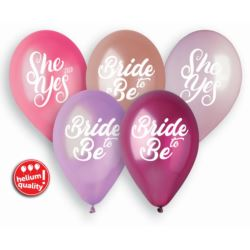 Balony Premium Hel Ladies Night, 13 cali/ 5 szt.