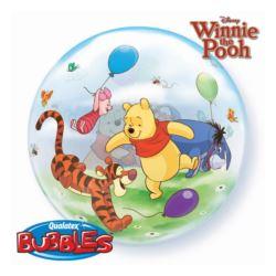 "Balon foliowy 22"" QL Bubble Poj."